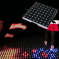 Economic and Efficient China led dance floor for stage club show / with the music