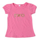 Kids Children Hot Pink Puff Sleeve Shirts Wholesale 2 Years Old Beautiful Girls Bubble Sleeve T Shirts For Kids
