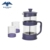 High borosilicate French press tea maker with cups set
