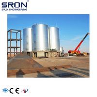 China best supplier of cement silo , cement silo with high quality cleaner dust collector