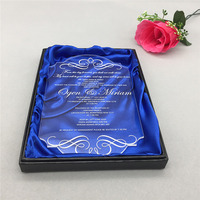 Custom Made Scroll Rods With Acrylic Ends For Scroll InvitesScroll Invitation DesignersWedding Invitation Stores