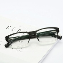 CJ242 Manufacturers Company Full Square Frame Gradient Reading Glasses Branded Trendy Prescription Optical Glasses