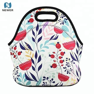 Promotional outdoor picnic cheap price insulated neoprene cooler bag