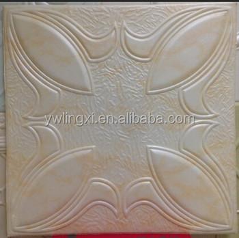50x50cm Light Weight Styrofoam Ps Ceiling Tile Polystyrene Material