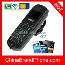 LONG-CZ J8 Mini Phone with Hands Free Bluetooth Dialer + Bluetooth Headphone Function