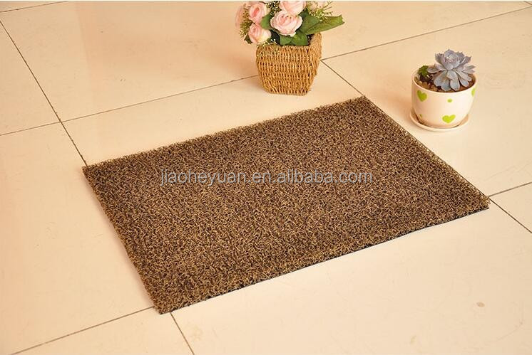 Kitchen Entrance Anti-Slip PVC Coil Mat For Door