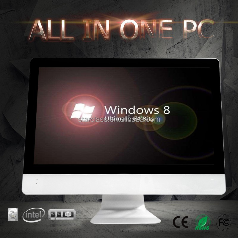 "New 24"" Intel Core Processor i3 i5 i7 CPU all-in-one PC 8GB 1TB DDR3 desktop laptop computer all in one pc"