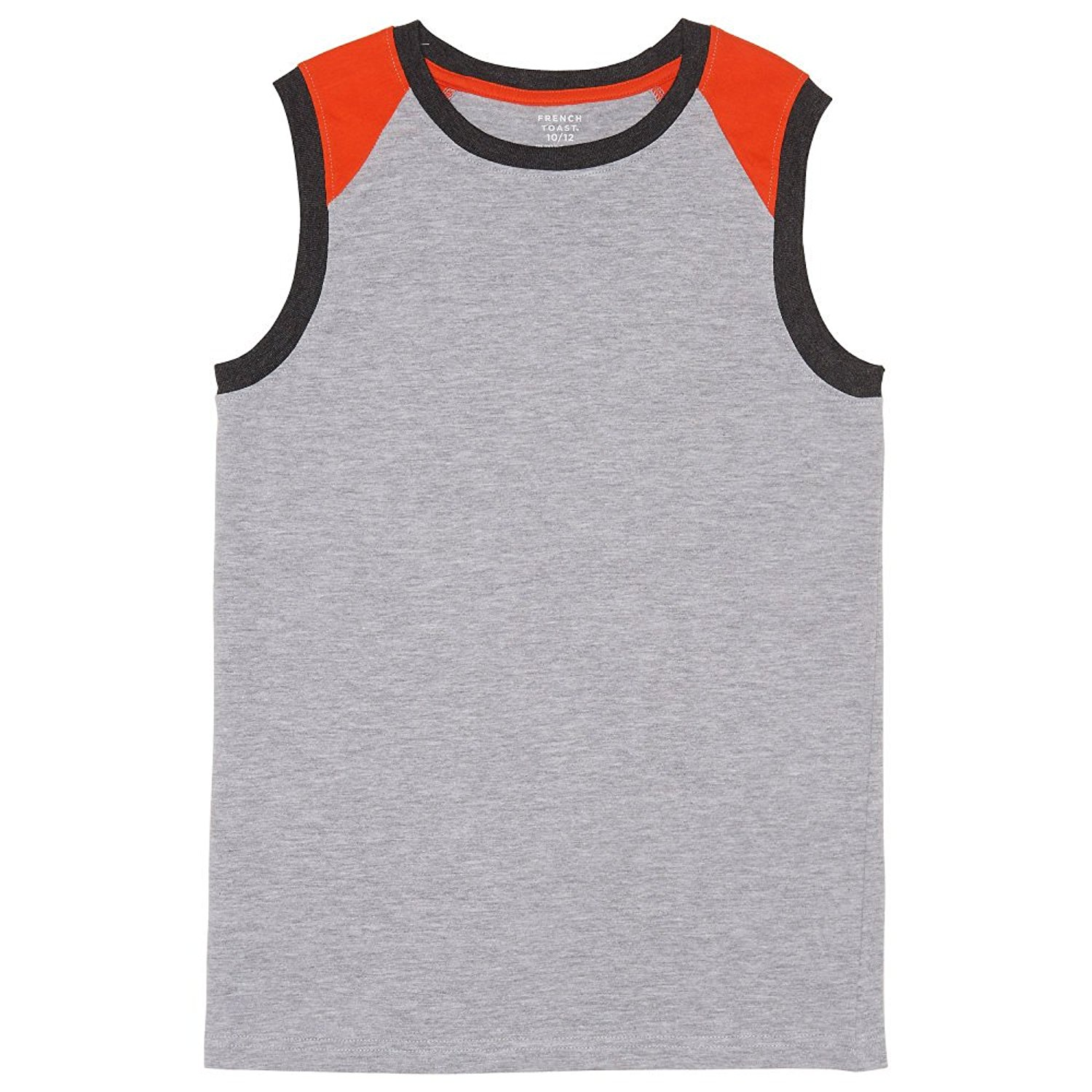 Colorblocked Black French Toast Boys Little Sleeveless Muscle Tee 6