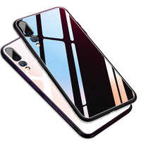 Anti scratch tempered glass case for Huawei P20 Pro mobile phone accessory