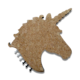 Fridge Magnets Unicorn Wood Veneer Cork board with EVA back as Memo board have 6 pins