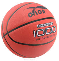 Custom rubber basketball ball design