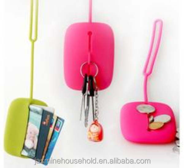 Hot Selling BPA Free Cute design silicone key/chain cover/ cases/Holders