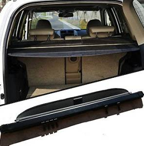 Gives Your Luggage /& Baggage in SUV Rear Cargo Trunk Anti-Theft Visor Shield Security Shade /& UV Protection! Tyger Auto Black Retractable SUV Rear Trunk Cargo Cover Shield Fit 13-18 Toyota Rav4