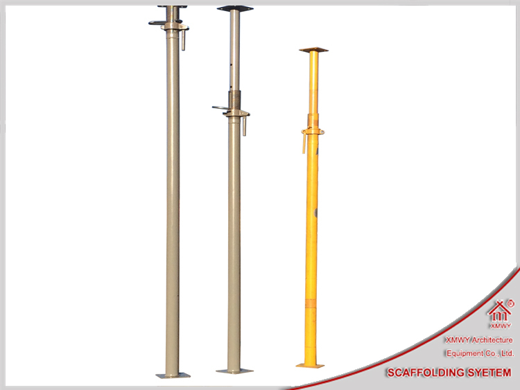 Adjustable Telescopic Prop : Shoring post shores telescopic steel prop strut for