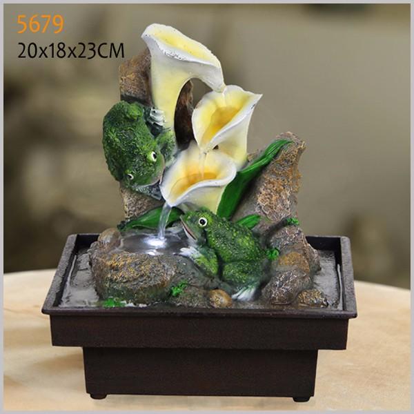 polyresin fuentes de mesa para la decoracin de interior