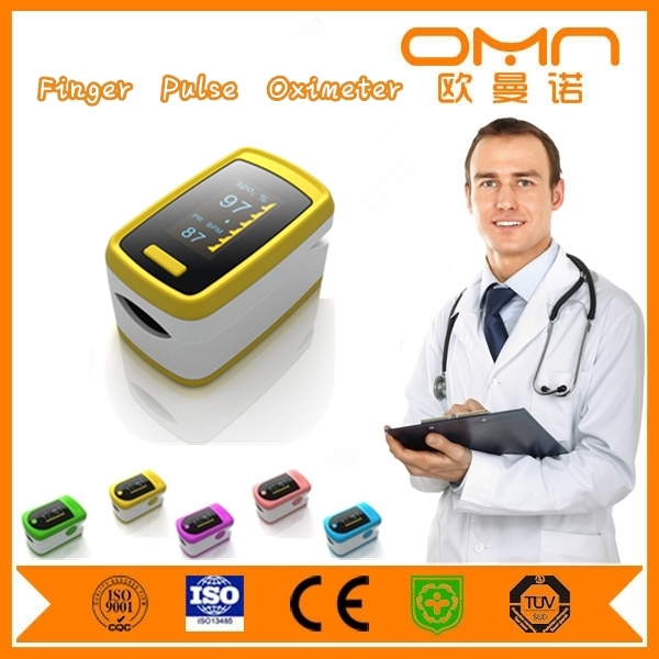 Portable Blood Oxygen Saturation Meter Finger Pulse Oximeter