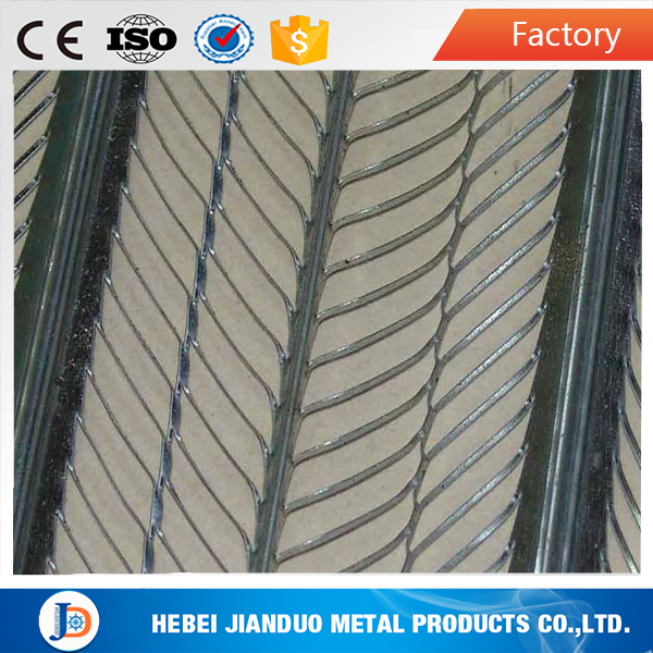 High quality 0.3mm Metal Rib Lath for Corner Protection