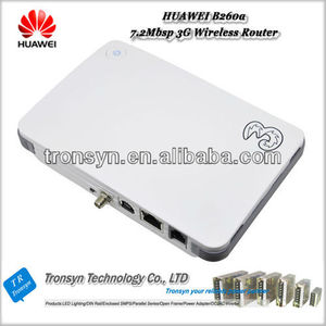 Unlocked HSDPA 7.2Mbps 3G Wireless Router B260A With LAN/WLAN Port Support HSUPA/HSDPA/WCDMA 850/900/1900/2100MHz