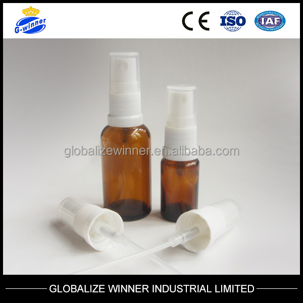 18/410 white plastic perfume sprayer with cover usd for glasss bottle plastic bottle pet bottle