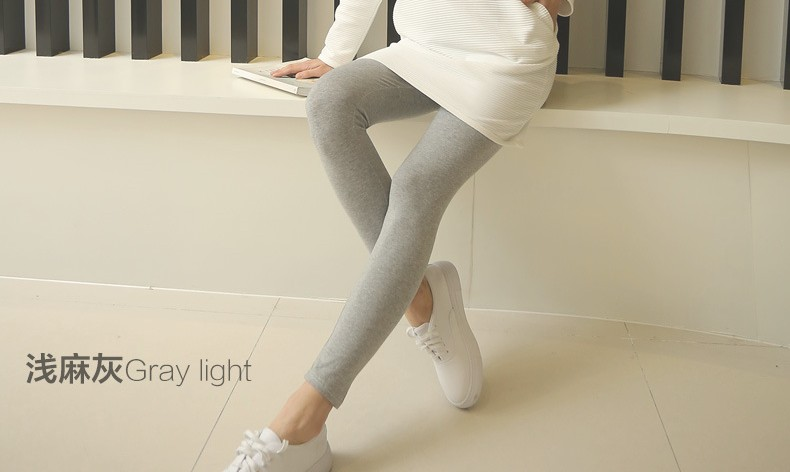 Spring Fall High Waist Maternity Leggings for Pregnant Women Stretch Cotton Pregnancy Clothes Pants Maternity Bottoms