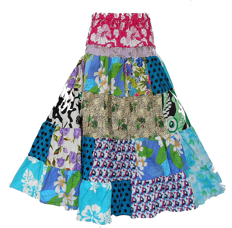 patchwork maxi skirt pattern