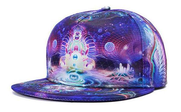 Get Quotations · hot harajuku style women men Baseball Cap funny Pattern 3d  galaxy Printed Snapback snap back hat 907236640d0