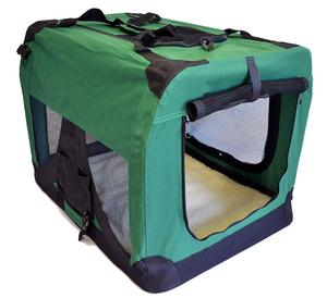 Logo printed Portable Soft Pet Carrier or Crate or Kennel for Small Pets Great for Travel