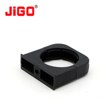 Securing Conduit Pipe Holder Nylon Brackets - Buy Conduit Pipe Holder Nylon  Brackets,Plastic Pipe Brackets,Pipe Support Brackets Product on
