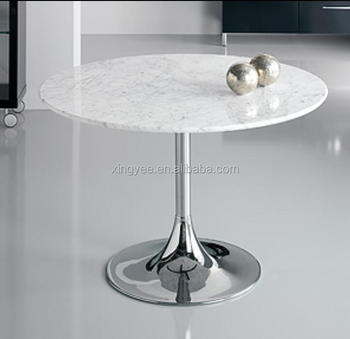 Phenomenal Modern Living Room Chromed Steel Metal Base Artificial Marble Tables Home Furniture Granite Tempered Glass Round Dining Table Buy Round Marble Slab Ibusinesslaw Wood Chair Design Ideas Ibusinesslaworg
