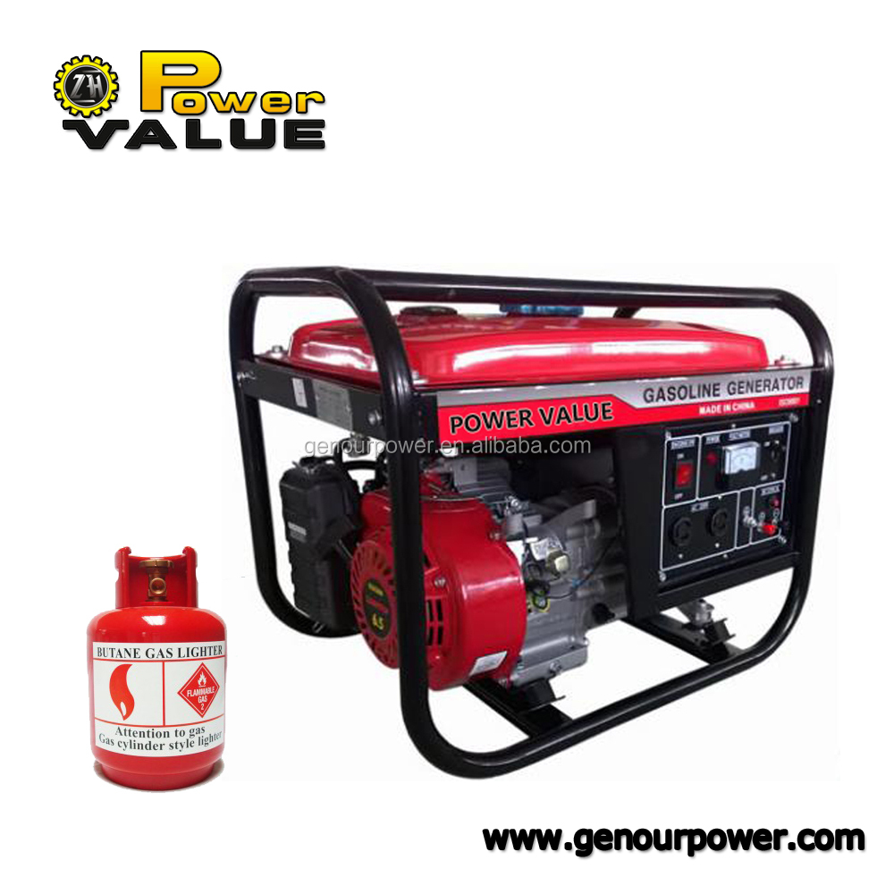 Gas operated electric generator