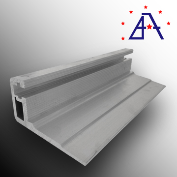 ISO aluminium profile for trolley guard rails