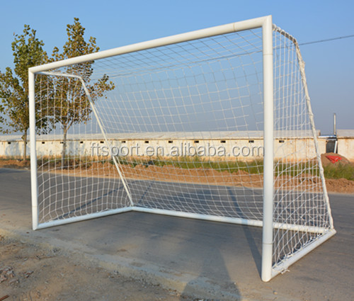 Socketed &Free standing soccer goal,11-a-side soccer goal post,full size soccer goal(size:7320mm*2440mm)