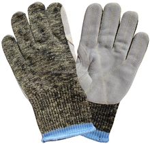Wholesale Alibaba Aramid Lining Cow Split Leather Palm Cut Resistant Gloves Work, Anti Cut Gloves
