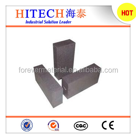 China manufacture magnesia fire fused refractory brick for cemnt kilin