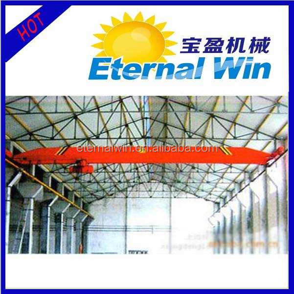 LDA motor driven single beam bridge crane 5 ton for sales from China crane hometown
