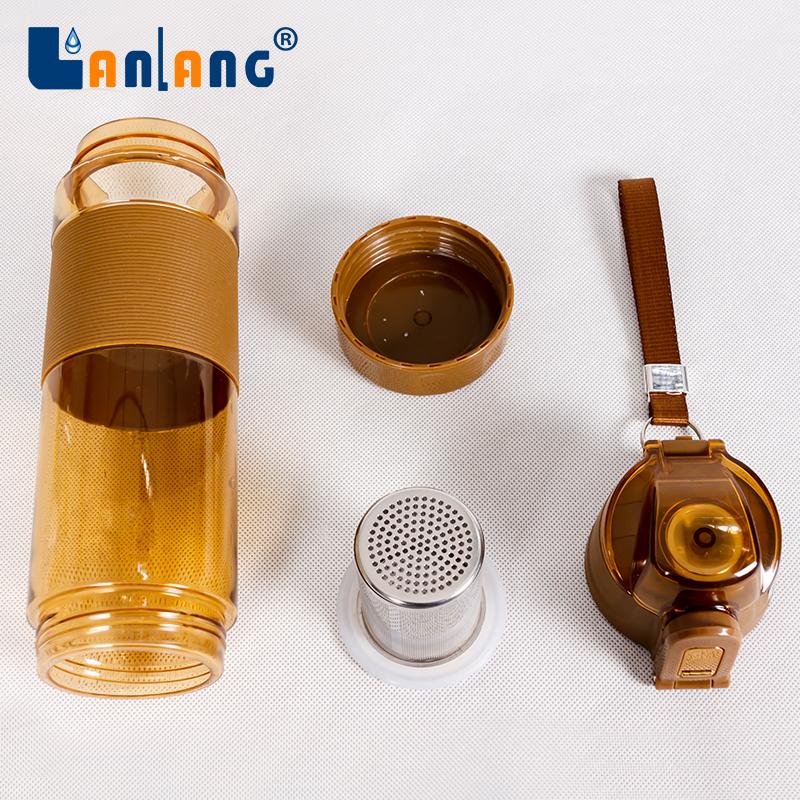 Potable sport BPA-Free Alkaline hydrogen Energy Generator Water Bottle