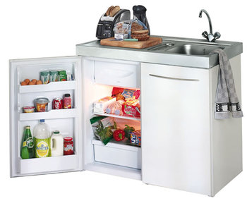 All In One Kitchen Unit With Built In Refrigerator