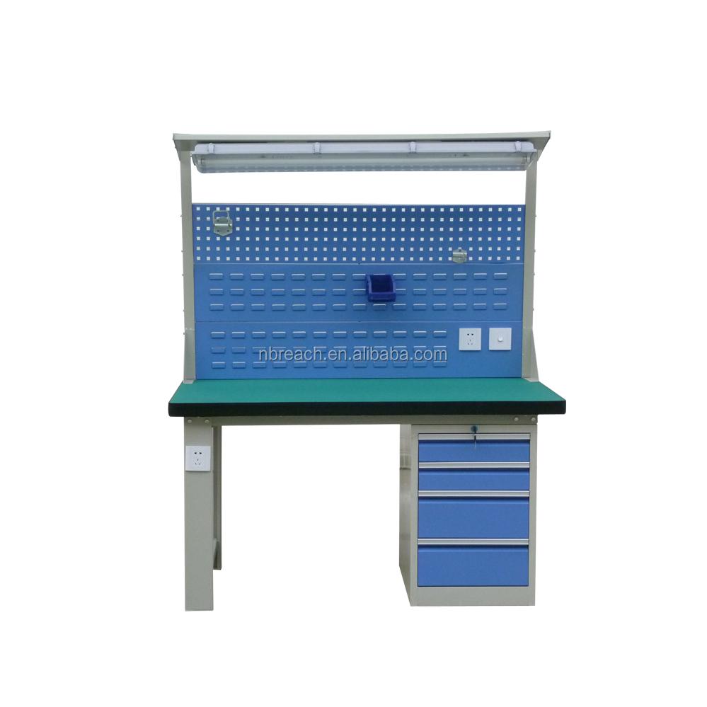 hohe qualität esd elektronische werkbank schubladen-werkzeugschrank