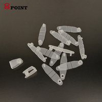 DIY Key chain accessories plastic snap clip