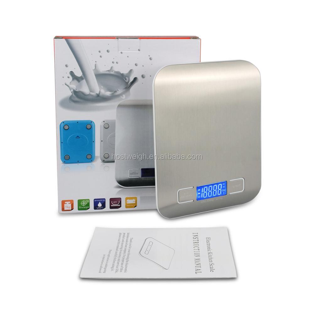 デジタル食品スケール10キログラムのx 1グラム電子スケール体重計で良い品質
