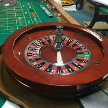 Baccarat Texas Poker Blackjack Glücksspiel Produkte Hohe qualität Solide holz 32 inch Massivholz Professionelle <span class=keywords><strong>Casino</strong></span> Roulette Rad