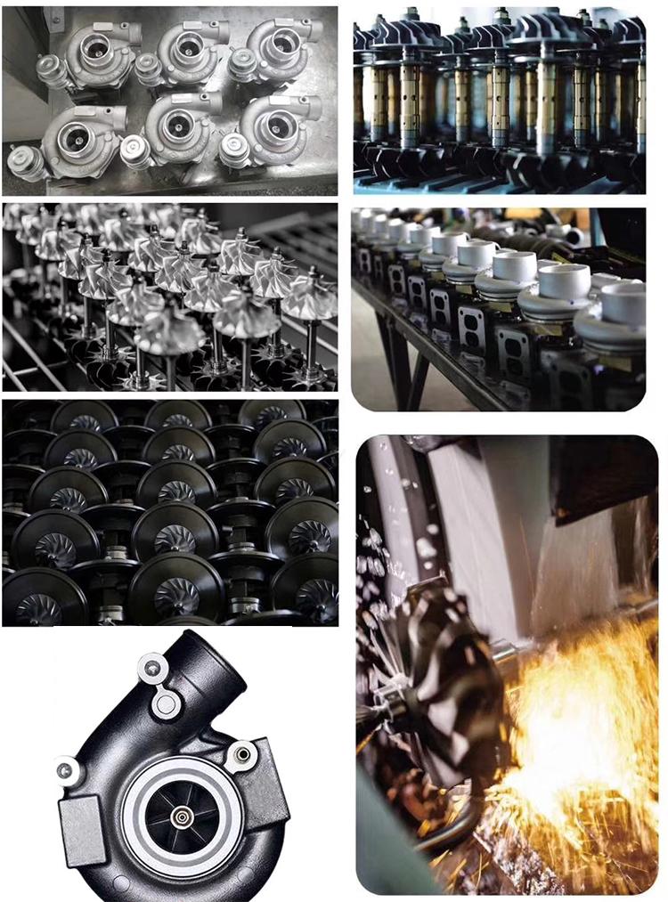 AJK V6 động cơ turbo tăng áp k03 53039880016 078145701 S 078145701R 078145701L 078145701 H