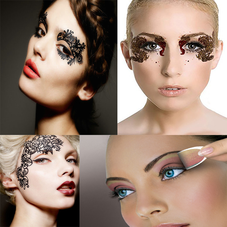 Makeup Shining Glitter Eye Shadow Eyeliner Tattoo Sticker Buy