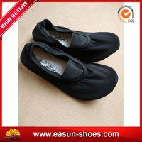 Cheap promotional rubber disposable ballet shoes foldable ballet flat shoes foldable shoes
