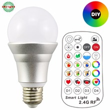 ce rohs led light bulb 2.4G color changing lights lamp