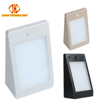 High quality 5 w Modern Cool White IP65 outdoor Waterproof Garden Led solar wall light