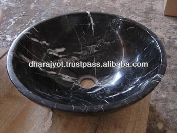 Indian Black Granite Polished Oval Shaped Hand Wash Sink Buy Granite Kitchen Sink Composite Granite Sink Black Corian Sink Product On Alibaba Com