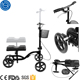 4 wheel knee walker with rest pad for post surgery injury rehab