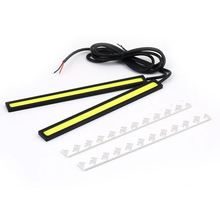 2pcs 12V LED COB Car Auto DRL Driving LED Daytime Running Light Lamp LED Fog Light