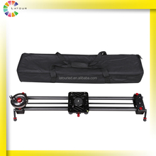 China factory direct supply light weight portable camera slider with flywheel dslr slider camera stabilizer dolly GT-T80